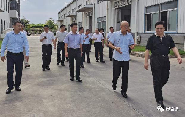 广东省委副秘书长张劲松率队来我司调研指导